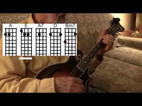 Silent Night - Easy Mandolin Christmas Chords