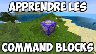 APPRENDRE LES COMMAND BLOCKS - Tuto #1