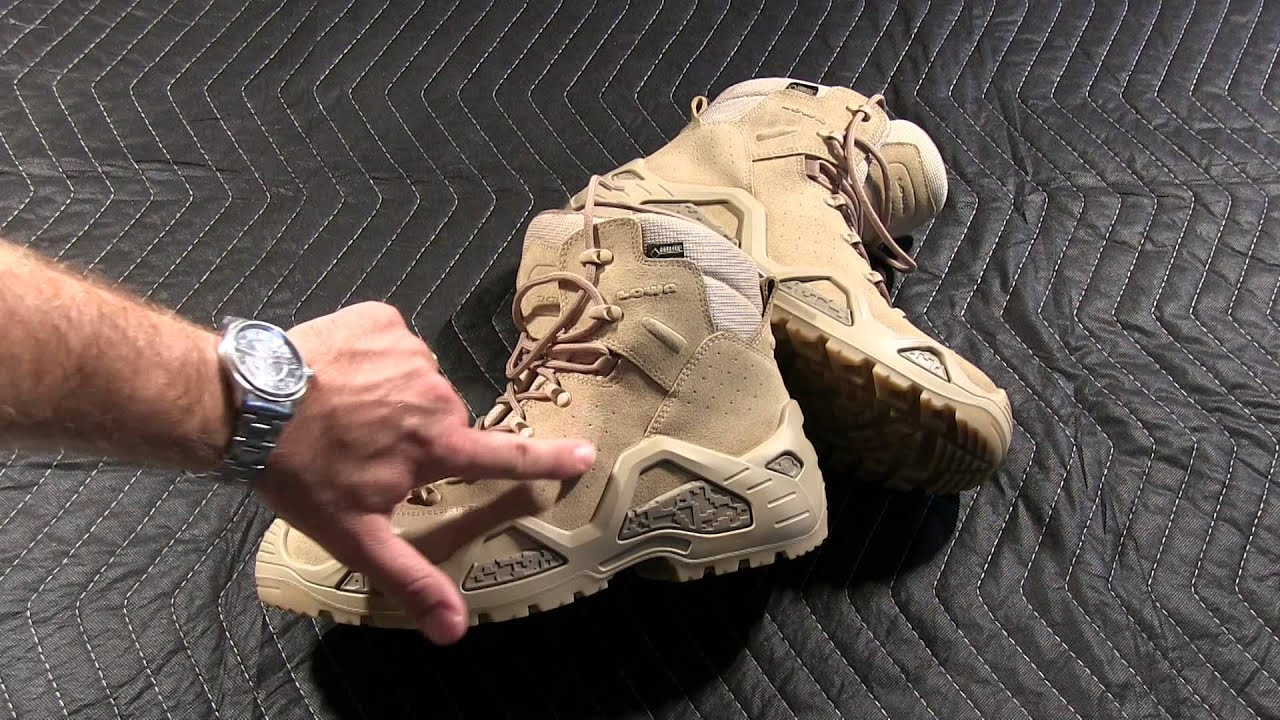 Lowa Z 6s Gtx Military Duty Boots Youtube