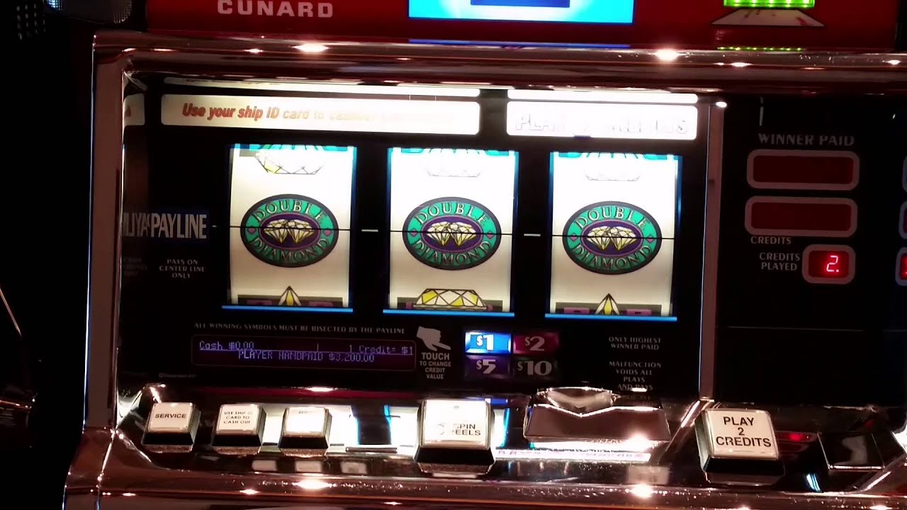 double diamond deluxe slot machines