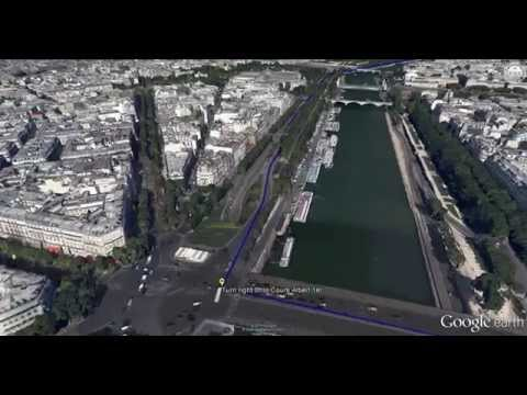 Paris, France - Tour by car from Eiffel Tower to Notre Dame Cathedral