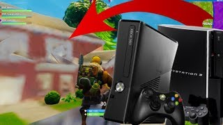 PLAYING FORTNITE ON PS3 & XBOX 360! *OLD GEN* (HACKER TELEPORTED ME!)