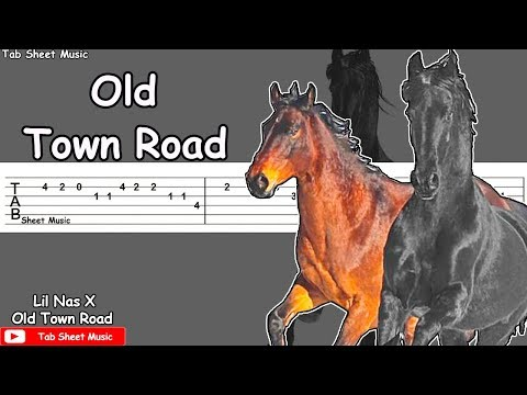 Lil Nas X - Old Town Road (feat. Billy Ray Cyrus) Guitar Tutorial