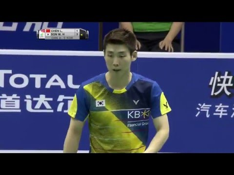 TOTAL BWF Thomas & Uber Cup Finals 2016 | Badminton QF-Thomas Cup-CHN vs KOR