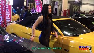 AMTS 2018. tuning cars&sexy girls