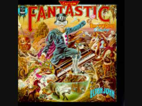 Elton John Curtains Captain Fantastic 10 Of 13