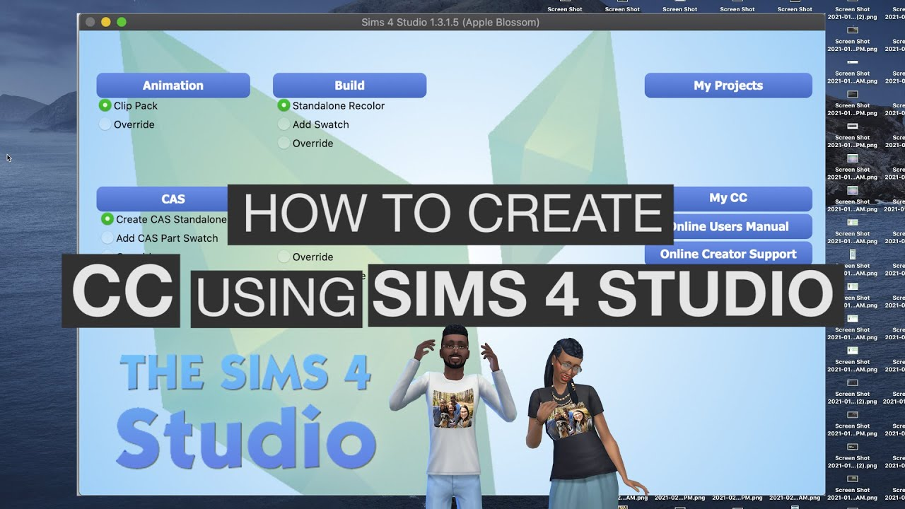 How To Make Custom Content In The Sims 4 | Easy Tutorial