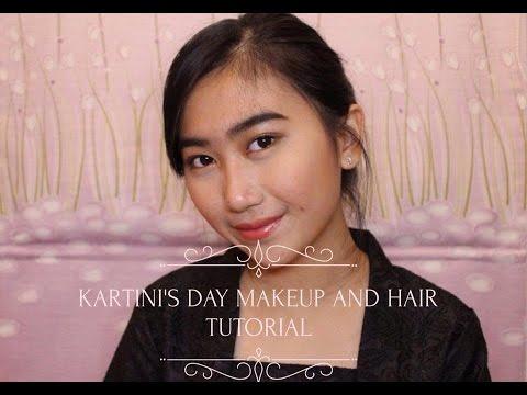 Kartini's Day Makeup And Hair Tutorial