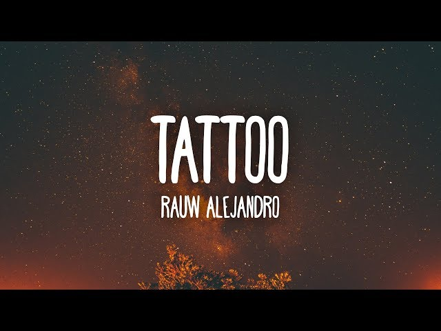 Rauw Alejandro Tattoo Letra Lyrics News Art Travel Design Technology Tattoo is a popular song by rauw alejandro | create your own tiktok videos with the tattoo song and explore 549.4k videos made by new and popular creators. rauw alejandro tattoo letra lyrics