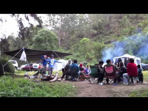 Camping in Sydney Australia tent campfire etc. super extra long weekend easter ANZAC VEDA Day 10