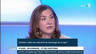Otages : un hommage... et des questions - Les questions SMS #cdanslair 13.05.2019