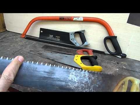 Как разводить зубья на ножовке по дереву
