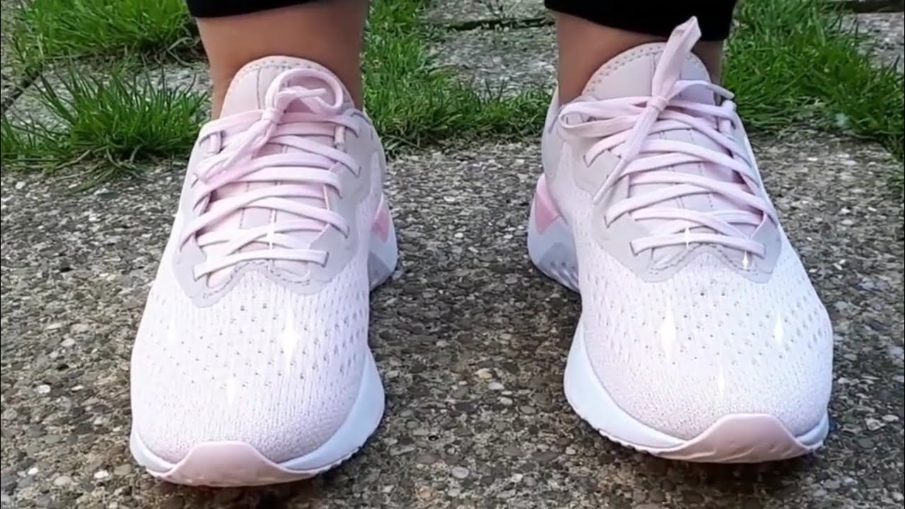 5a16b3e4005ca9 Nike Odyssey React Women s Running Shoes Barely Rose Arctic Pink   Punch My  Nieces Birthday Present.
