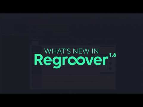 Regroover | New features in Regroover 1.6
