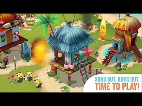 Minions Paradise Android İos Free Game GAMEPLAY VİDEO PART 2 MINIONS Movie – and EA