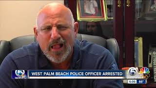 Officer arrested on charges of theft and misconduct