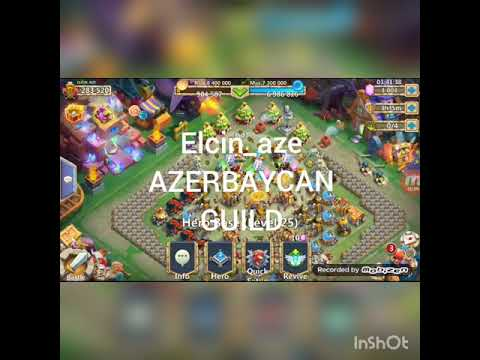CASTLE CLASH HEROES TRIAL L19 😎😎
