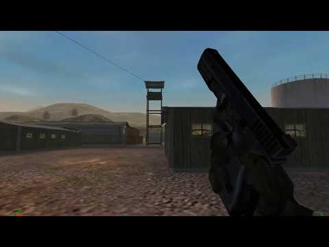 Project IGI - Mission 1: Trainyard using Glock 17 with alarm
