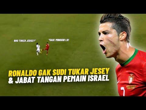 RESPECT RONALDO ♥️ 4X Momen Cristiano Ronaldo Tunjukkan Kebencian Saat Berjumpa Orang Israel