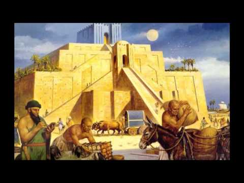 المدن السومرية في أوريدو، أور، أوروك ونيبور   The Sumerian cities of Eridu Ur Uruk and Nippur