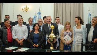 """Video: Gobernador Morales: Copa Jujuy: """"El torneo más federal de Argentina"""""""