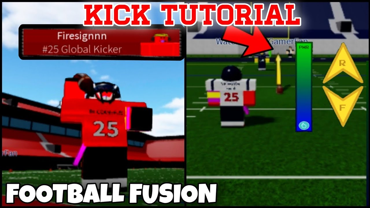 in roblox game how do i kick lucys football How To Kick In Football Fusion With Updated Meter Youtube