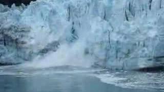 glacier calving montage