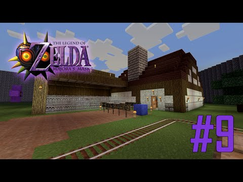 Majoras Mask Legend of Zelda Minecraft Adventure Map - Ep 9 w/Download