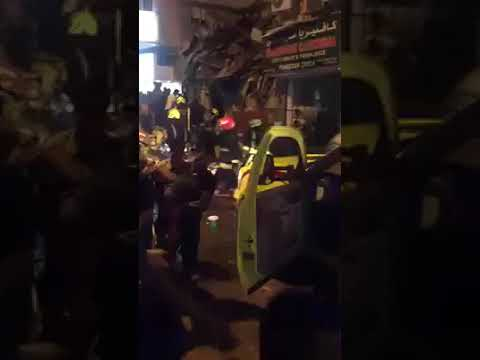 Gas Cylinder Explosion in  Bahrain Capital Manama
