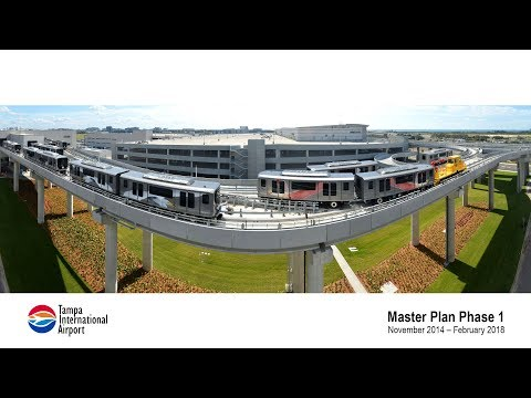 Tampa International Airport Construction Time-Lapse