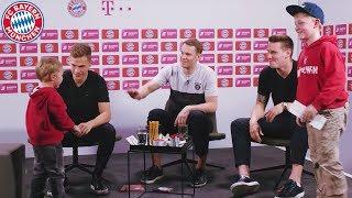 Neuer, Kimmich & Süle überraschen Fans in der Erlebniswelt! | FC Bayern Prank mit Magenta Sport