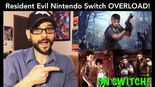 Resident Evil OVERLOAD on the Nintendo Switch! What else could be coming? | Ro2R