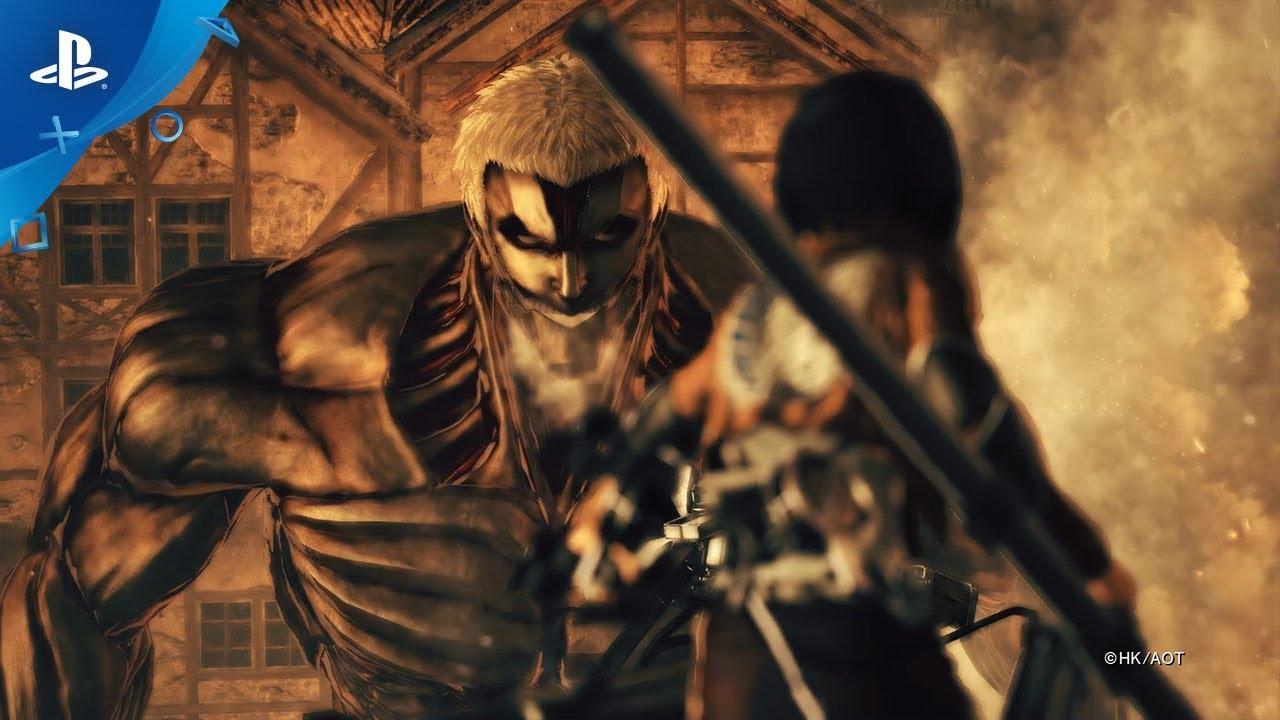 Attack on Titan 2 - Final Battle Launch Trailer | PS4