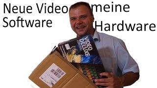 meine neue Schnitt Software und PC Hardware update