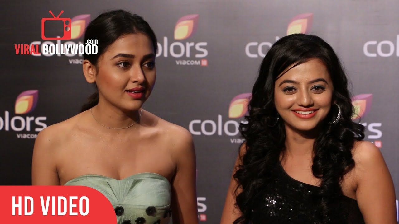 Helly Shah & Tejaswi Prakash At Colors Annual Party 2016 ...