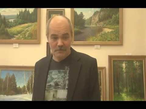Выставка Вадима Зайнуллина в библиотеке