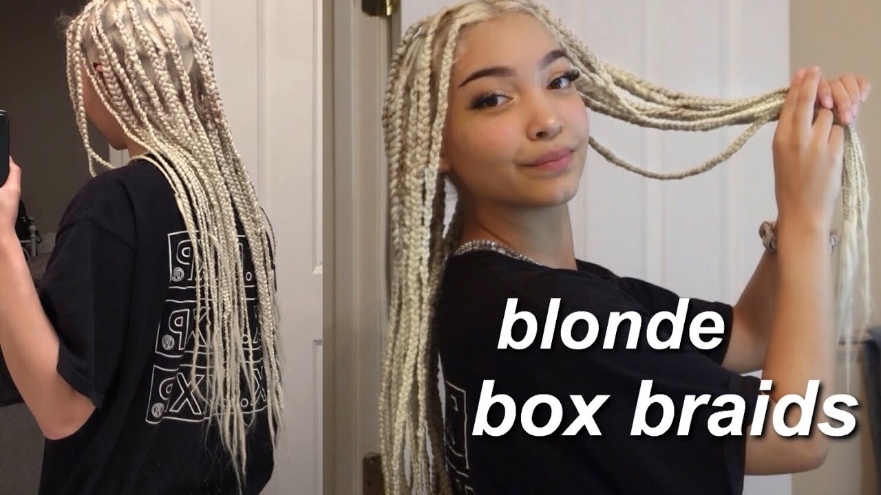 Featured image of post Brown And Blonde Knotless Braids