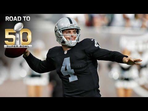 Road to Super Bowl 50: Raiders