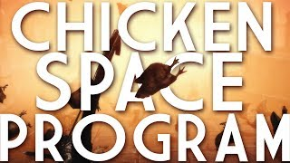 SKYRIM: CHICKEN SPACE PROGRAM! (Explosive Chickens Mod)