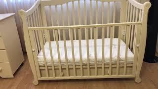 Детская мебель Гандылян. Кровать Моника и комод Сильвия. Продаётся