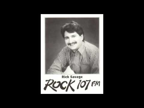 Rick Allen Rock 107 WRQK 106.9 Canton Ohio 1991 Radio Aircheck Savage Eddie Money interview