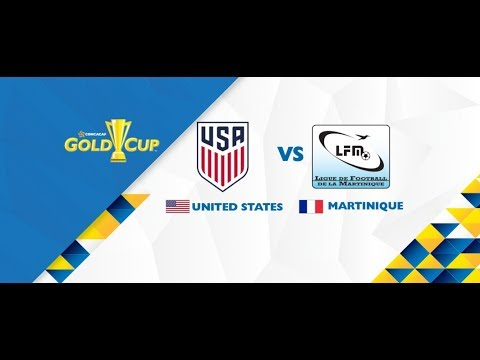 Gold Cup 2017:  USA vs  Martinique | Dom Dwyer scored the first goal