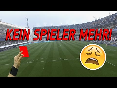 Was passiert wenn jeder Spieler ROT hat? 🔥😱 FIFA 17 MEISTEN ROTEN KARTEN