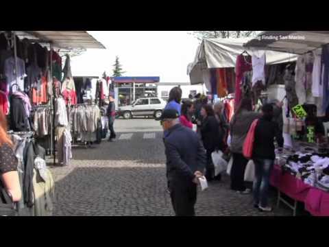 At Borgo Maggiore Thursday market 2012 in San Marino
