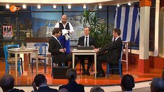 Die Anstalt: Folge 10 Griechenland 31.03.2015 - Max Uthoff und Claus von Wagner - Bananenrepublik