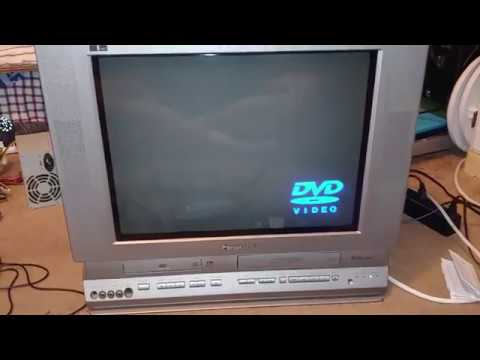 Panasonic TV DVD VCR Combo Side Of Road Pickup