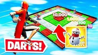 BULLSEYE for LOOT Challenge *NEW* Darts Gamemode in Fortnite Creative