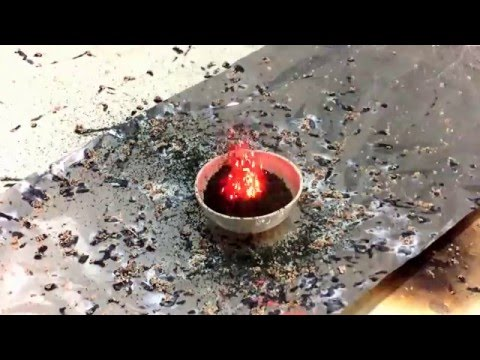 Reaction Of Ammonium Chromate With Water