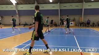 Handball. KSLI (Kiev, UKR) - Viborg HK:2 (DEN). Viborg. U16boys. Gr PO-A3. GENERATION HANDBALL-2018