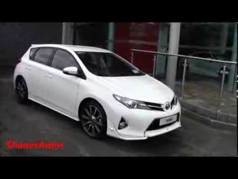 2014 toyota auris with the trd bodykit youtube. Black Bedroom Furniture Sets. Home Design Ideas